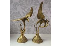 Pair of large Bronze Eagle Statues
