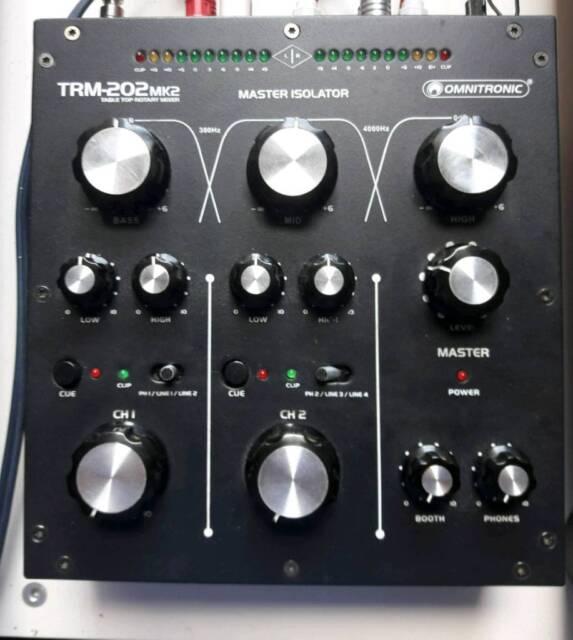 Omnitronic trm 202mk2 rotary mixer | in Stone, Staffordshire | Gumtree