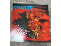 "Erasure - Chains Of Love 12"" Single Vinyl record"