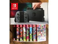Nintendo Switch Grey + 1x Top Game Pick!