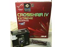 Gaming PC Bundle - ASUS Republic of Gamers Motherboard - AMD Phenom II x6 Core 4GB RAM
