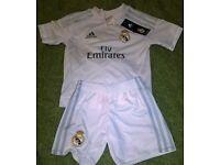 Real Madrid Football Kit 3-4 Yrs