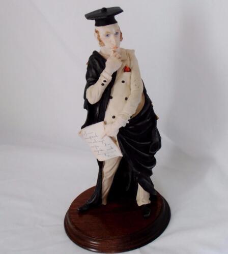 Porcelain  Professor Figurine.....The haughty professor
