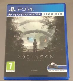 Robinson The Journey VR game for PS4