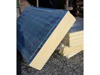 30mm x1200 x 2400 new insulation slabs foiled £16.50