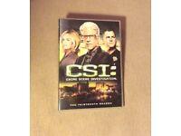 CSI LAS VEGAS - SEASON 13 - DVD DISC SET