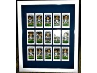 Birmingham City Framed Cigarette Cards