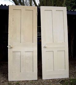 DINING / LIVING / SHABBY CHIC 2 RECLAIMED VICTORIAN INTERNAL DOORS