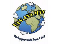 Van-ana-Man. Falkirk based/central Scotland Van and man reliable service, no job too small!