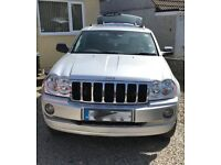 2005 Jeep Grand Cherokee Limited 3.0litre diesel Automatic with new MOT