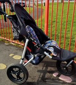 Out'n'about nipper single stroller