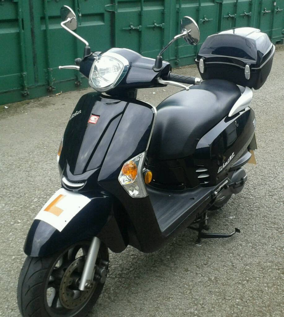 kymco like 125 in rhyl denbighshire gumtree. Black Bedroom Furniture Sets. Home Design Ideas