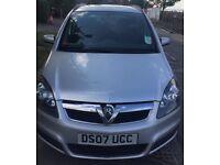 Vauxhall Zafira, 2007, 1.6, petrol, manual, 7 Seater