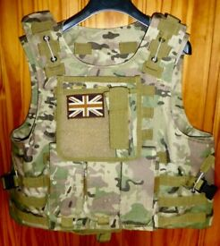 Wargame Military Style Outdoor Rig Tactical Vest suitable for young teenager.
