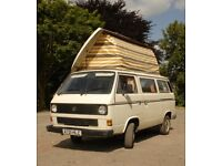 VW T25 Campervan - new engine fitted March