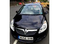 BARGAIN Black Vauxhall Corsa 1.0 New shape (Nearest Offer Considered)