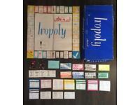 Rare Vintage Iran Iropoly - 1970s Iranian version of Monopoly