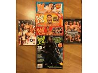 Wrestling magazines and videos