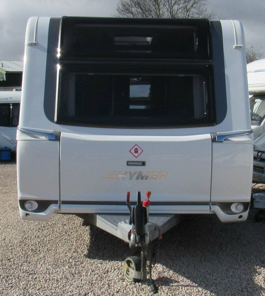f61f70abb19c57 HYMER NOVA GL 585 2015  FIXED BED  4 BERTH CARAVAN