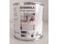 IKEA BEHANDLA White Glazing Paint (375ml pot)
