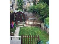 Large 2 bedroom conversion with sole use garden for 3/4 bed