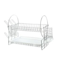 2 tier dish rack in various colours