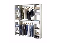 Brand NEW Bedroom Storage Solution Wardrobe open space storage in White or Oak 2 colours available