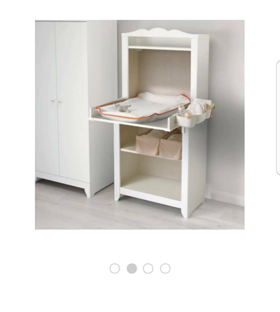Wardrobe and changing table