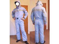 Trespass Ski Suit Size M Unisex (Light Blue)