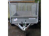 Ifor Williams 8x5 high sided trailer