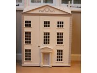 Beautiful huge Honeychurch Townhouse Dolls House with furniture