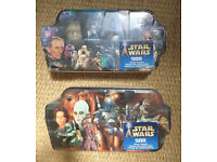 STAR WARS JIGSAWS [SEALED 500 PIECE] from 2002 [£20 each - £35 for both] FREE POSTAGE WITHIN UK