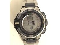 Casio Pro trek Watch - solar