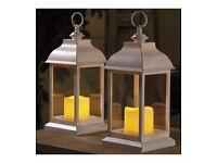 Set of 2 Dorset lanterns