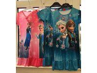 Joblot of 16 Disney Frozen Nightdresses