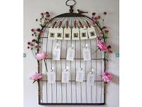BirdCage Table Plan - Wedding