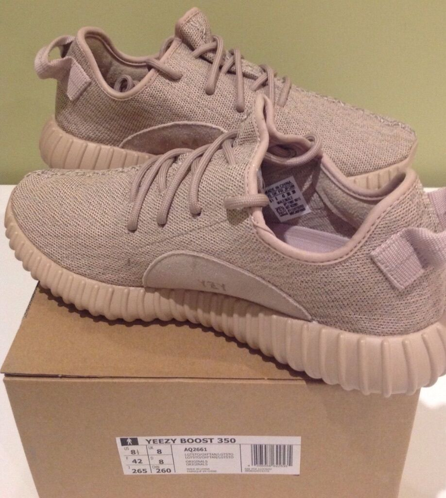 Adidas Yeezy Boost 350 Oxford Tan UK 8 New with tags in ...