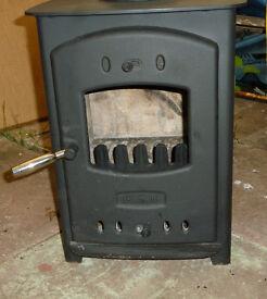 wood burner, valor willow, multifuel stove