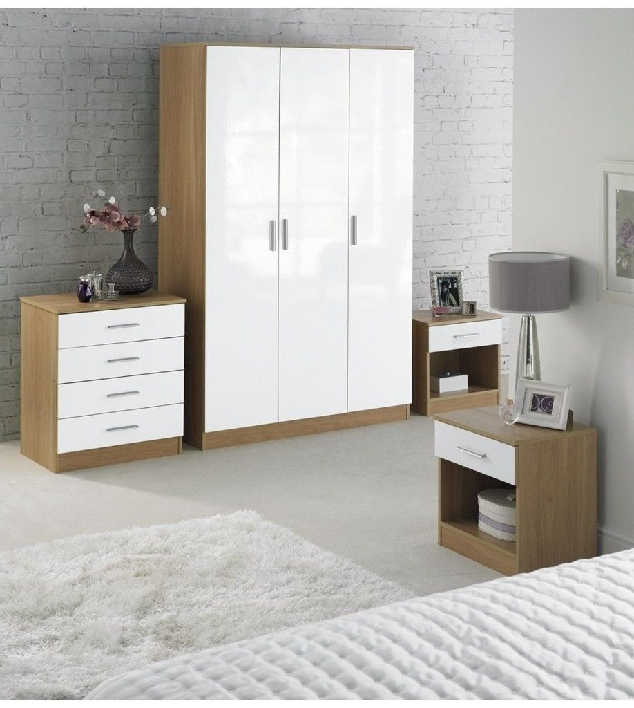 White Bedroom Furniture Set Gumtree