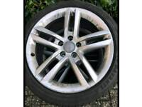 """Audi TT 18"""" 4 x Alloys Rims with Excellent Tyres 18 Inch"""