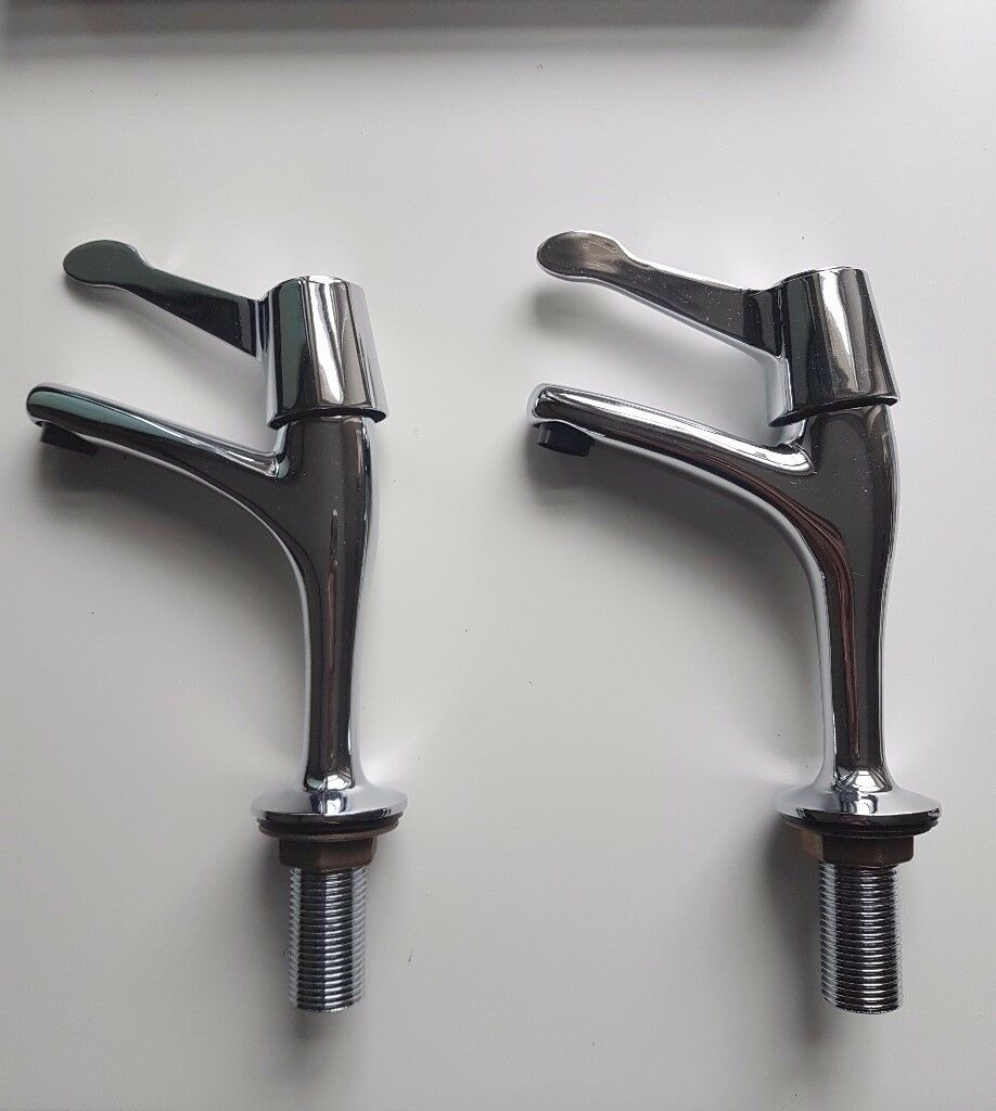 Single kitchen sink TAPS - NEW in the box. HOT & COLD