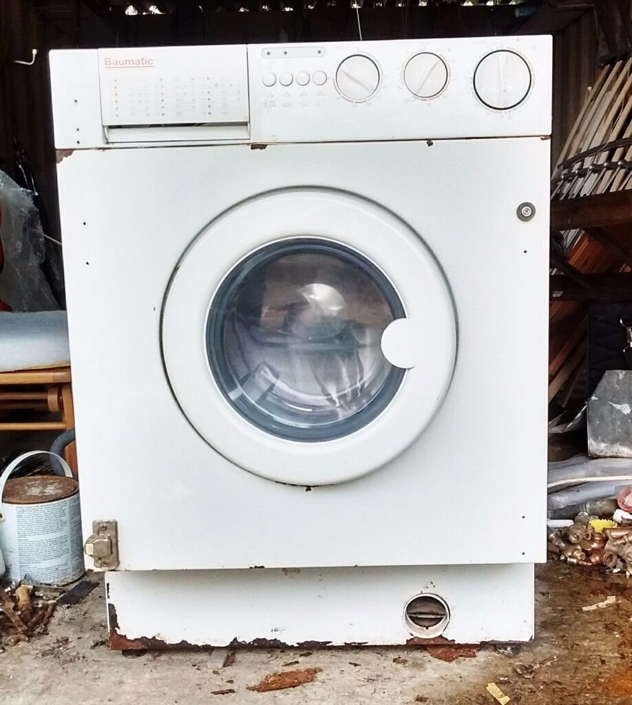 INTEGRATED washer dryer washing machine