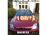 Honda Prelude 2.2 VTi 1998, one owner from new
