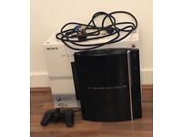PlayStation 3 80gb with games...