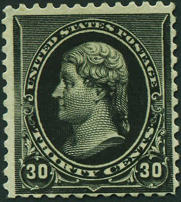 US 1890 #228 30c Thomas Jefferson  Unused OG