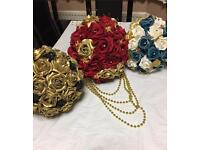 Beautiful Bridal Bouquets (Artificial)