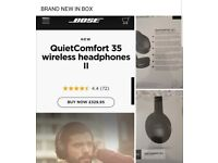 Brand new bose wireless Bluetooth headphones