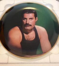 Freddie Mercury collector plates.