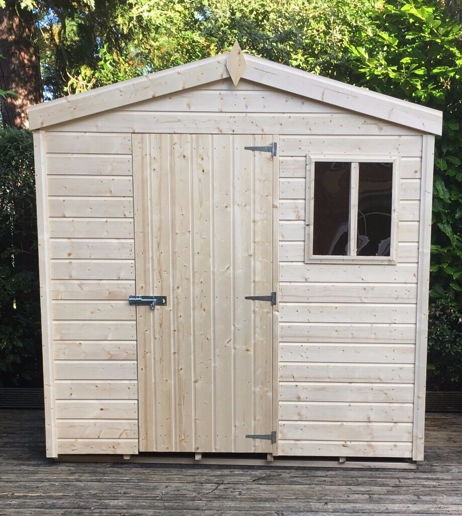 black friday offer 7ft x 5ft tg garden shed - Garden Sheds Belfast