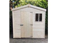 black friday offer 7ft x 5ft tg garden shed